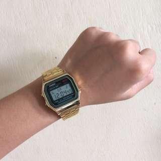 Casio Vintage Watch Gold