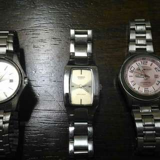 Preloved watch - casio & army tech
