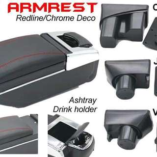 Armrest with drink holder red black =rm 60.00/New pvc armrest with drink holder=rm 120.00