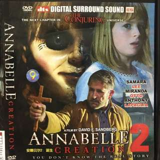 Dvd movie, Annabelle 2, Creation