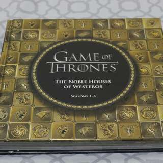Game of Thrones: The Noble Houses of Westeros (Seasons 1-5)