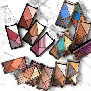LA/L.A. GIRL Eye Lux Eyeshadow 四色眼影