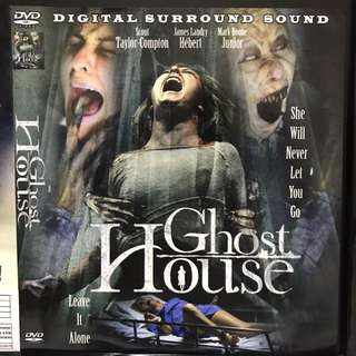 Dvd English movie. Ghost House