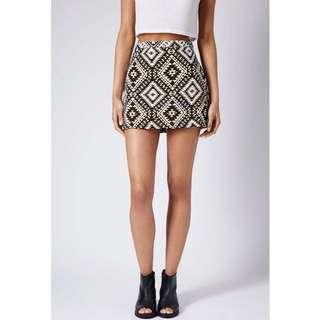 Topshop Aztec Skirt (S)