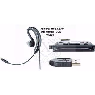 Bnew JABRA Headsets (UC Voice Series - 250)