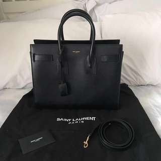 Authentic Saint Laurent Sac De Jour