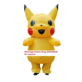 Pikachu Inflatable Costume for Rental