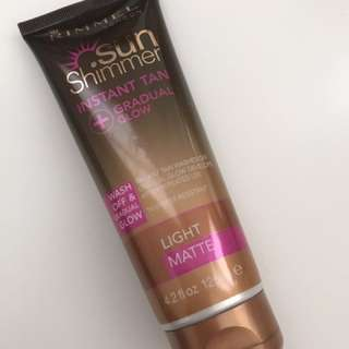 Rimmel Instant And Gradual Tan