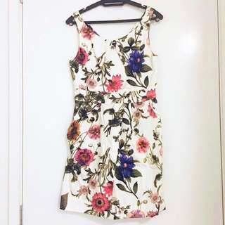 NEW Forever21 Sleeveless Floral Dress