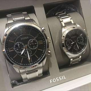 FOSSIL Couple Watch ❤️