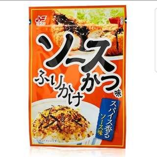日本 日式豬排口味 黃油醬油口味 拌飯香鬆 飯友