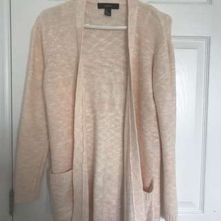 Light pink cardigan