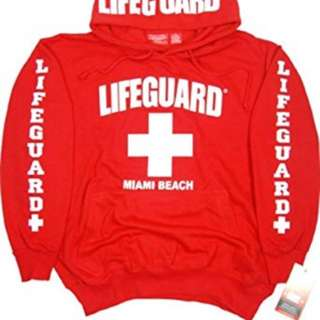 Miami Beach Lifeguard Sweatshirt