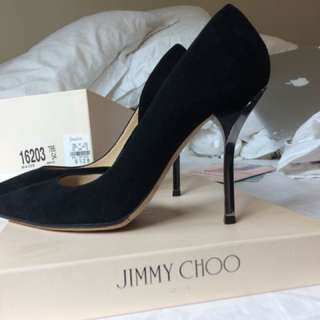Jimmy Choo 6.5 Suede Heels | Willis Sue d'Orsay
