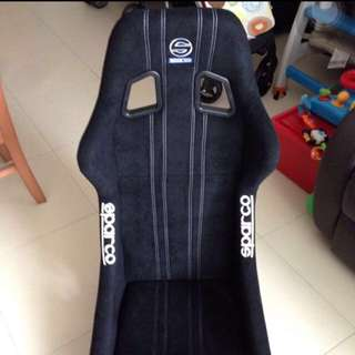 Original Sparco Full Bucket Seat With Miki Rail