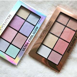 Ultra Pro Glow 2 Highlighting Palette By Makeup Revolution