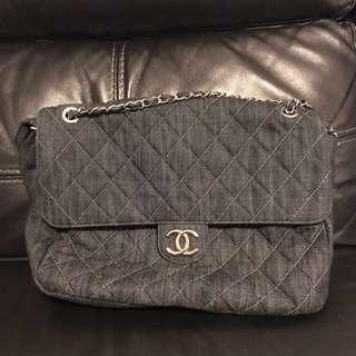 Chanel 牛仔布大袋 Limited Edition