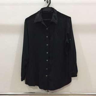 Black Blouse Size M
