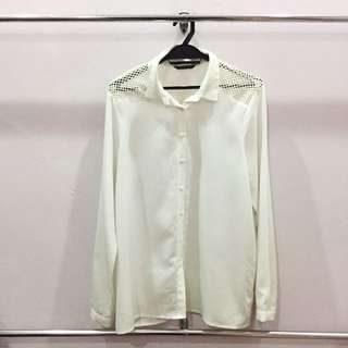 White Blouse Rope XL