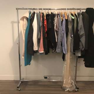 Clothes rack for sale! (Chrome)