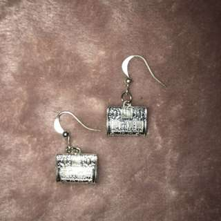 Asian bag earrings