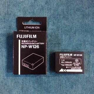 NP-W126 Fujifilm (JP) Battery for X-Pro2 / X-Pro1 / X-T2 / X-T1 / X-T10 / X-E2S / X-E2 / X-E1 / X-M1 / X-A2 / X-A1 / HS50EXR / HS30EXR / HS33EXR