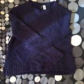 H&M blue sweater