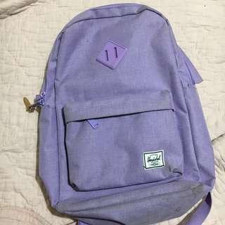 Light purple Hershel bag