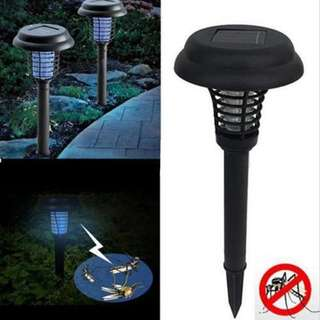 Solar Powered UV Insect Zapper Gardening Plant Singapore Remove Pesky Flies/ Mosquitoes/ Gnats