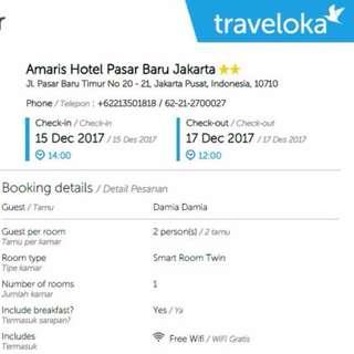 DWP Event Accomodation 2017 - Amaris Hotel Pasar Baru