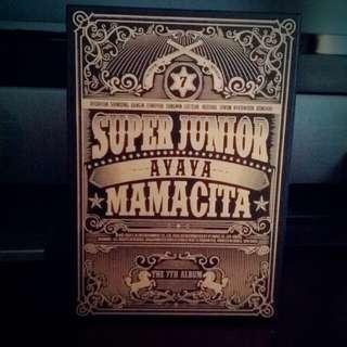 super junior 7輯  mamacita cd