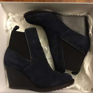 Lacoste Wedge Boots ~ RARE ~