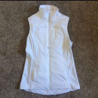 Lululemon White run vest size 8