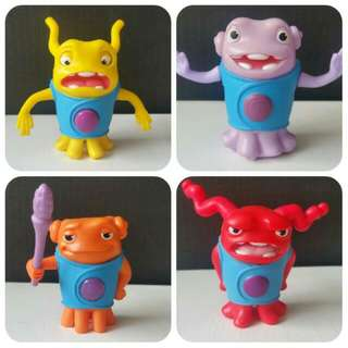 Dreamworks HOME McDonalds Happy Meal Toys. Oh