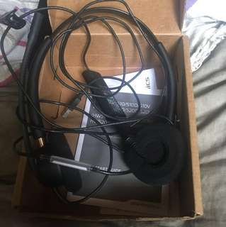 Plantronics headset (only a month used)
