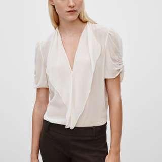 Aritzia talula babaton tinsley blouse XS