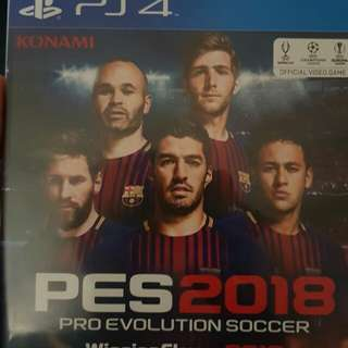 PRO Evolution 2018 for trade with your Fifa2018