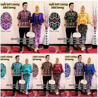 Formal batik couple