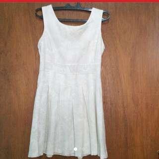 [REPRICE] White Dress