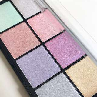 Ultra Cool Glow Highlighting Palette By Makeup Revolution