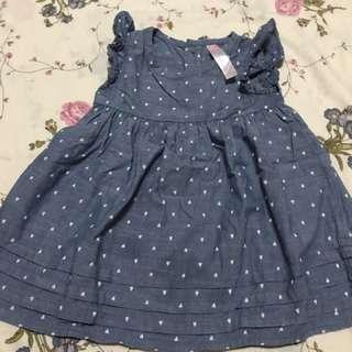 Cherokee baby denim dress