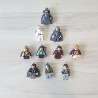 (In Stock) Lego Inspired Lord of the Rings Key Chain