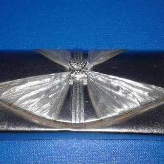Clutch bag Abu2 Metalic