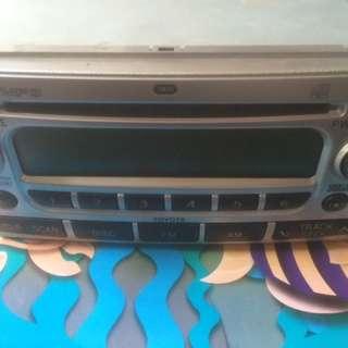 Car radio stock