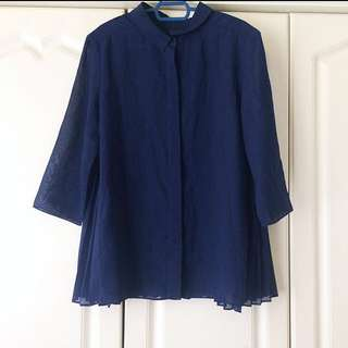 Blouse - Back Pleated