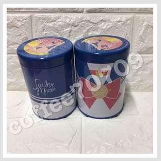 美少女戰士 20週年 Sailor Moon 收納鐵罐 一個