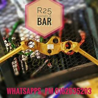 R25 handle bar