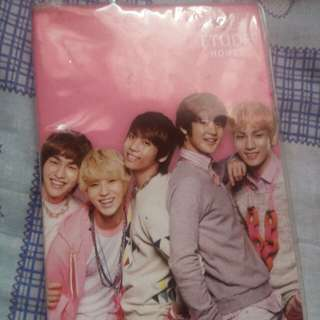 Shinee planner from etudehouse