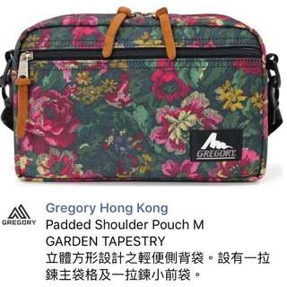 98% 新 Gregory袋 padded shoulder pouch M