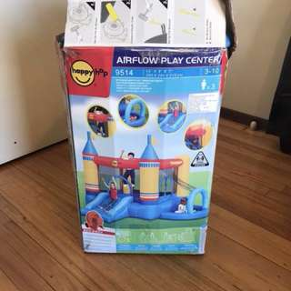 Inflatable jumping castle!!! Practically brand new used only 2 times selling cause moving!